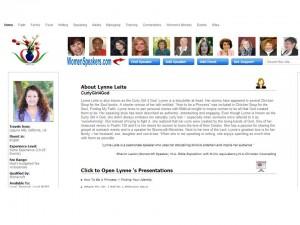 New Speaker Directory Listing!